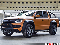 2016 Volkswagen Amarok MTM V8 Passion Desert = 240 kph, 410 bhp, 6.2 sec.