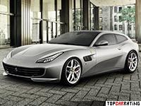 2017 Ferrari GTC4 Lusso T = 320 kph, 610 bhp, 3.5 sec.