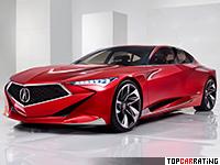 2016 Acura Precision Concept = 288 kph, 430 bhp, 3.8 sec.