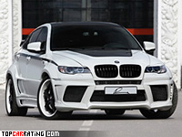 2010 BMW X6 M Lumma Design CLR X 650 M = 312 kph, 670 bhp, 4.2 sec.