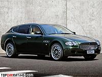 2008 Maserati Quattroporte Bellagio Fastback Touring = 275 kph, 440 bhp, 5.2 sec.