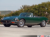 1971 Jaguar E-Type V12 Open Two Seater (S3) = 242 kph, 276 bhp, 6.1 sec.