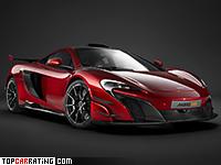 2017 McLaren MSO HS = 327 kph, 688 bhp, 2.8 sec.