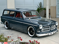 2006 Volvo Amazon Custom Concept = 300 kph, 788 bhp, 3.5 sec.