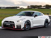 2017 Nissan GT-R Nismo = 320 kph, 600 bhp, 2.6 sec.
