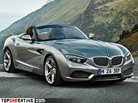 2012 BMW Zagato Roadster = 250 kph, 340 bhp, 4.5 sec.