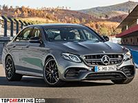 2017 Mercedes-AMG E 63 S 4Matic (W213) = 300 kph, 612 bhp, 3.4 sec.