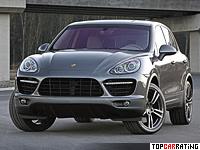 2010 Porsche Cayenne Turbo (958) = 278 kph, 500 bhp, 4.7 sec.
