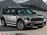 2017 Mini Cooper S E Countryman ALL4 = 230 kph, 224 bhp, 6.9 sec.