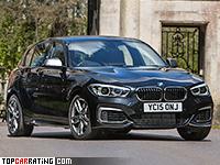 2016 BMW M140i xDrive (5-door) = 250 kph, 340 bhp, 4.4 sec.