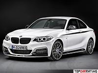2014 BMW M235i xDrive M Performance Accessories (F22) = 250 kph, 326 bhp, 4.6 sec.