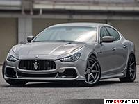 2015 Maserati Ghibli ASPEC PPM500 = 300 kph, 500 bhp, 4.4 sec.