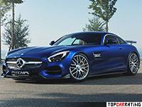 2016 Mercedes-AMG GT S Piecha Design GT-RSR = 330 kph, 612 bhp, 3.7 sec.