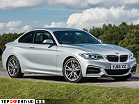 2016 BMW M240i xDrive = 250 kph, 340 bhp, 4.4 sec.