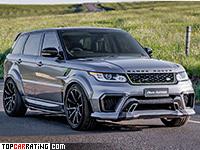 2016 Land Rover Range Rover Sport ASPEC PLR610R = 280 kph, 610 bhp, 4.8 sec.