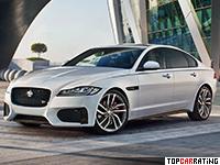 2016 Jaguar XF S AWD = 250 kph, 380 bhp, 5.3 sec.