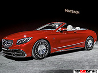 2017 Mercedes-Maybach S 650 Cabriolet (A217) = 250 kph, 630 bhp, 4.1 sec.