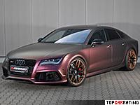 2016 Audi RS7 Sportback PP-Performance = 322 kph, 745 bhp, 3.6 sec.