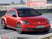 2011 Volkswagen Beetle Turbo = 223 kph, 200 bhp, 7 sec.