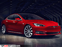 2017 Tesla Model S P100D = 250 kph, 773 bhp, 2.6 sec.