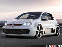 2007 Volkswagen Golf GTI W12 650 Concept = 327 kph, 650 bhp, 3.7 sec.