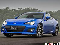 2016 Subaru BRZ S = 230 kph, 205 bhp, 6.9 sec.