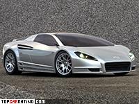 2004 Toyota Alessandro Volta Concept = 250 kph, 408 bhp, 4.03 sec.