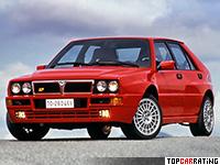 1993 Lancia Delta HF Integrale Evoluzione II = 220 kph, 211 bhp, 6.6 sec.