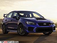 2017 Subaru WRX STi = 250 kph, 305 bhp, 4.8 sec.