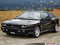 1989 Maserati Shamal = 270 kph, 322 bhp, 5.3 sec.