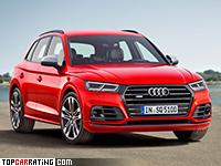 2017 Audi SQ5 3.0 TFSI = 250 kph, 354 bhp, 5.1 sec.
