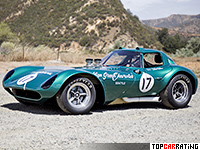1963 Cheetah Coupe = 285 kph, 385 bhp, 3.7 sec.
