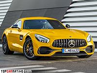 2018 Mercedes-AMG GT S = 311 kph, 522 bhp, 3.7 sec.