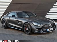 2018 Mercedes-AMG GT C Edition 50 = 317 kph, 558 bhp, 3.6 sec.