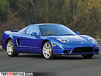 2002 Acura NSX-T M Series II = 282 kph, 294 bhp, 5.9 sec.