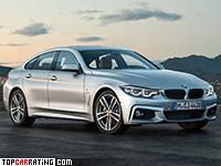 2017 BMW 440i xDrive Gran Coupe M-Sport = 250 kph, 360 bhp, 4.8 sec.