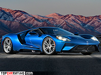 2017 Ford GT = 348 kph, 655 bhp, 3.5 sec.