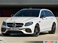 2018 Mercedes-AMG E 63 S Estate 4Matic+ = 300 kph, 612 bhp, 3.5 sec.