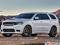 2018 Dodge Durango SRT (WD) = 250 kph, 481 bhp, 4.7 sec.