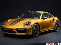 2017 Porsche 911 Turbo S Exclusive Series = 330 kph, 607 bhp, 2.9 sec.
