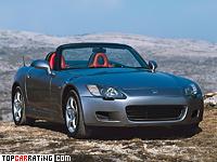 1999 Honda S2000 = 240 kph, 241 bhp, 6.2 sec.