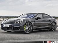 2018 Porsche Panamera Turbo S E-Hybrid = 310 kph, 680 bhp, 3.4 sec.