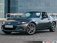 2017 Mazda MX-5 RF Miata Hardtop Convertible = 229 kph, 160 bhp, 6.9 sec.
