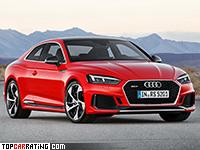 2018 Audi RS5 Coupe = 280 kph, 450 bhp, 3.9 sec.
