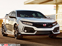 2018 Honda Civic Type-R = 272 kph, 320 bhp, 5.7 sec.