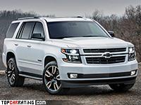 2018 Chevrolet Tahoe RST = 230 kph, 426 bhp, 5.7 sec.