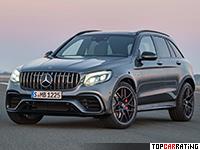 2018 Mercedes-AMG GLC 63 S 4Matic+ = 250 kph, 510 bhp, 3.8 sec.