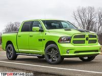 2017 Dodge Ram 1500 Sublime Sport = 210 kph, 401 bhp, 6.7 sec.