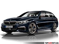 2018 BMW M550d xDrive Touring (G31) = 250 kph, 400 bhp, 4.6 sec.