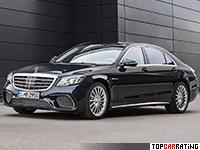2018 Mercedes-AMG S 65 = 300 kph, 630 bhp, 4.3 sec.